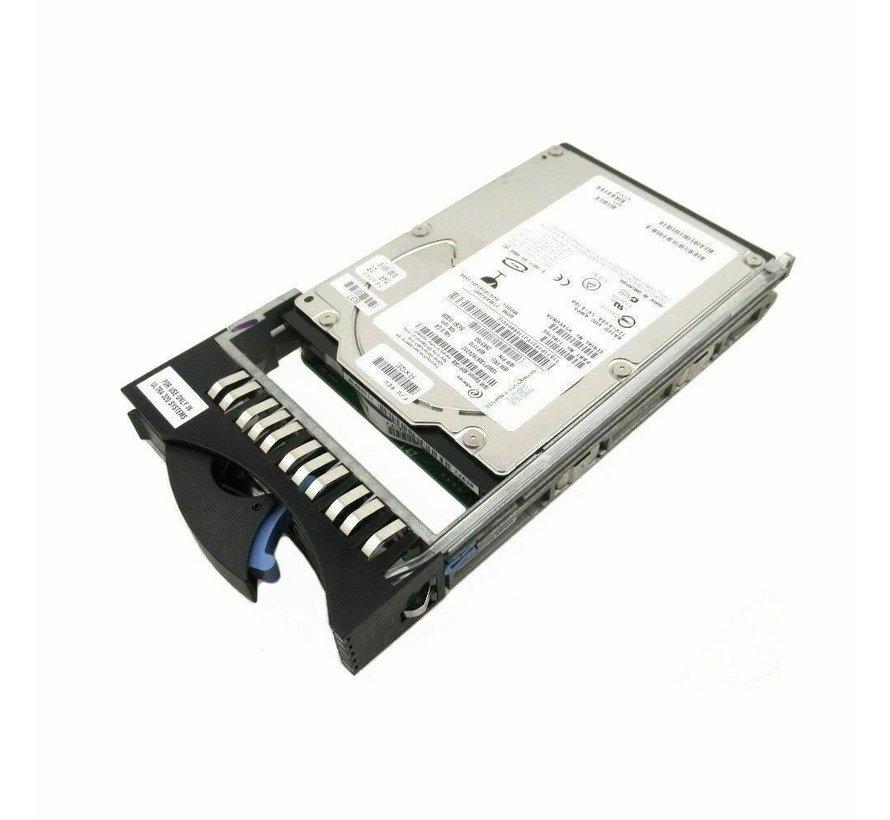 IBM HUS103014FL3800 Festplatte HDD SCSI 3.5 17R6324 90P1310 146,8GB 10K