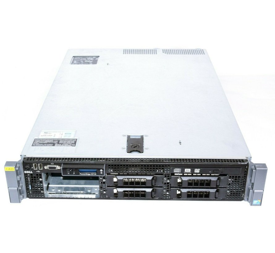 Dell PowerEdge R710 Server Intel Xeon L5520 Quad-Core 2.26 GHz 4GB RAM 3,5