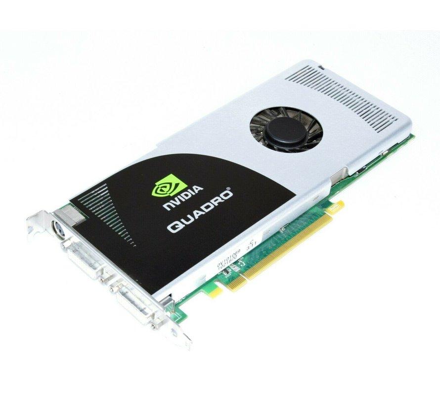 NVIDIA Quadro FX 3700 / 512MB GDDR3 PCI Express Dual-DVI TV-Out Grafikkarte