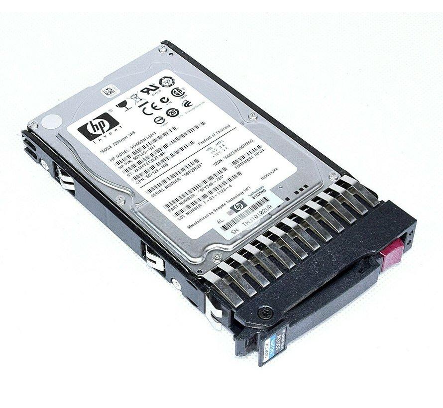 HP MM0500FAMYT 500GB 6G SAS 2.5 '' 7.2K Unidad de disco duro del servidor 507609-001