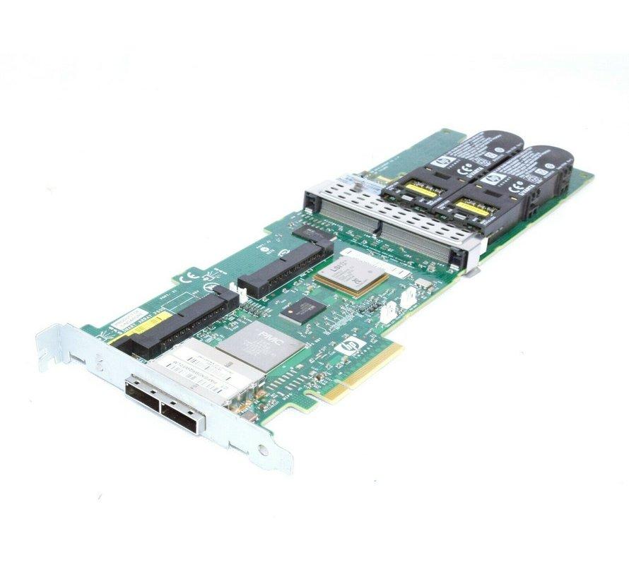 HP Smart Array P800 3Gb/s SAS RAID Controller 512 MB + BBU 398647-001 381572-001