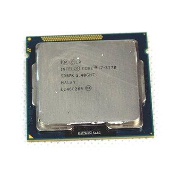 Intel Procesador Intel Core i7-3770 3.40GHz Quad Core 8 hilos LGA1155 SR0PK CPU