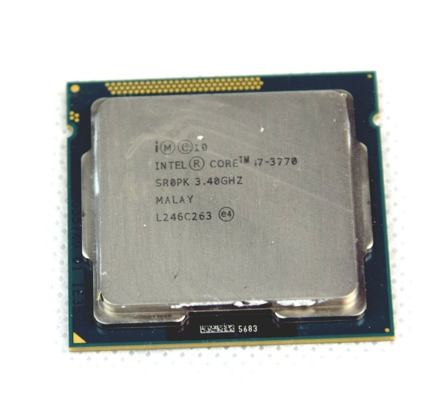 Procesador Intel Core i7-3770 3.40GHz Quad Core 8 hilos LGA1155 SR0PK CPU