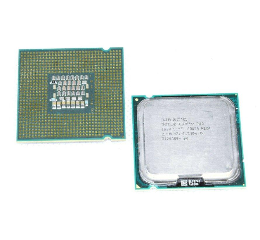 Intel Core2 Duo E6600 SL9ZL Desktop CPU Processor LGA 775 4MB 2.40GHz 1066Mhz
