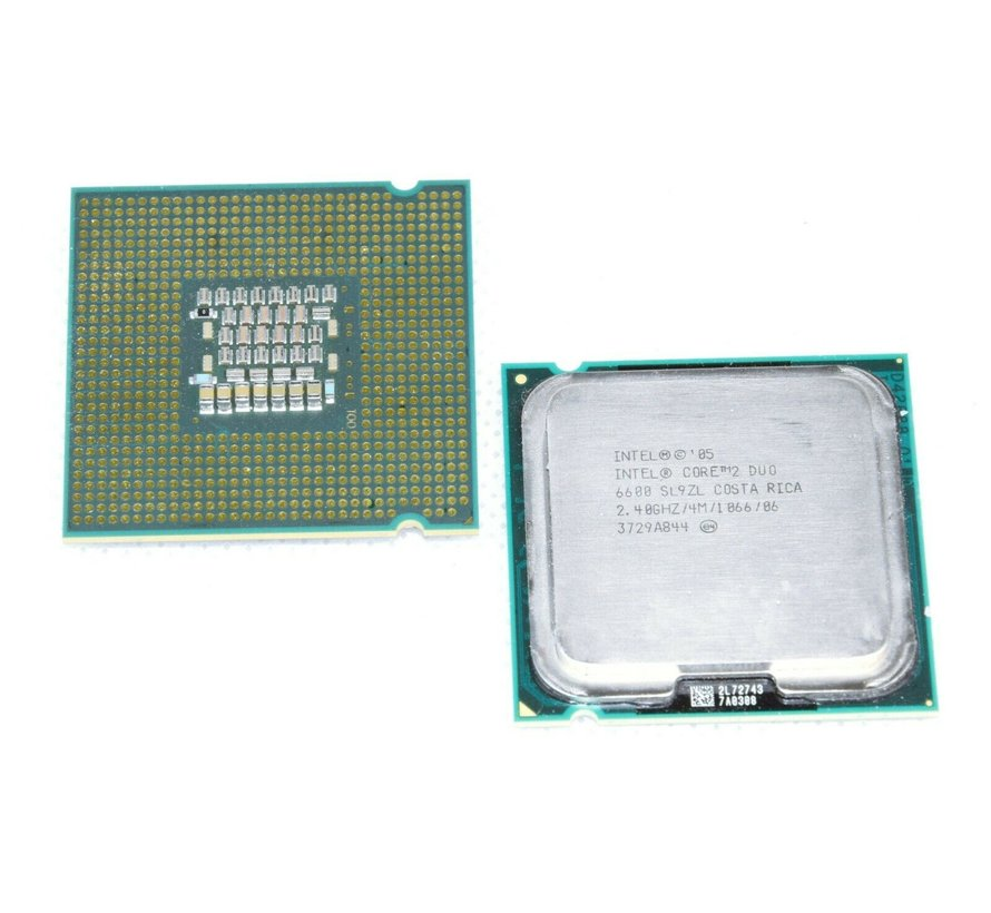 Intel Core2 Duo E6600 SL9ZL Desktop-Prozessor LGA 775 4 MB 2,40 GHz 1066 MHz