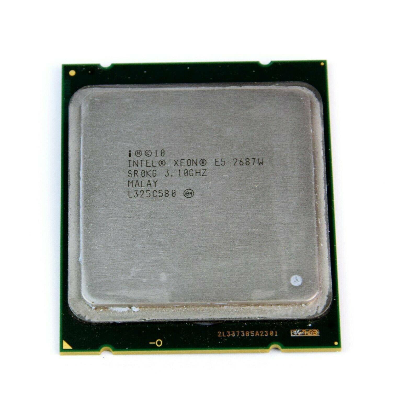 Intel Xeon E5-2687W High-Speed CPU 3 1GHz FCLGA2011 Processor X79  BX80621E52687W