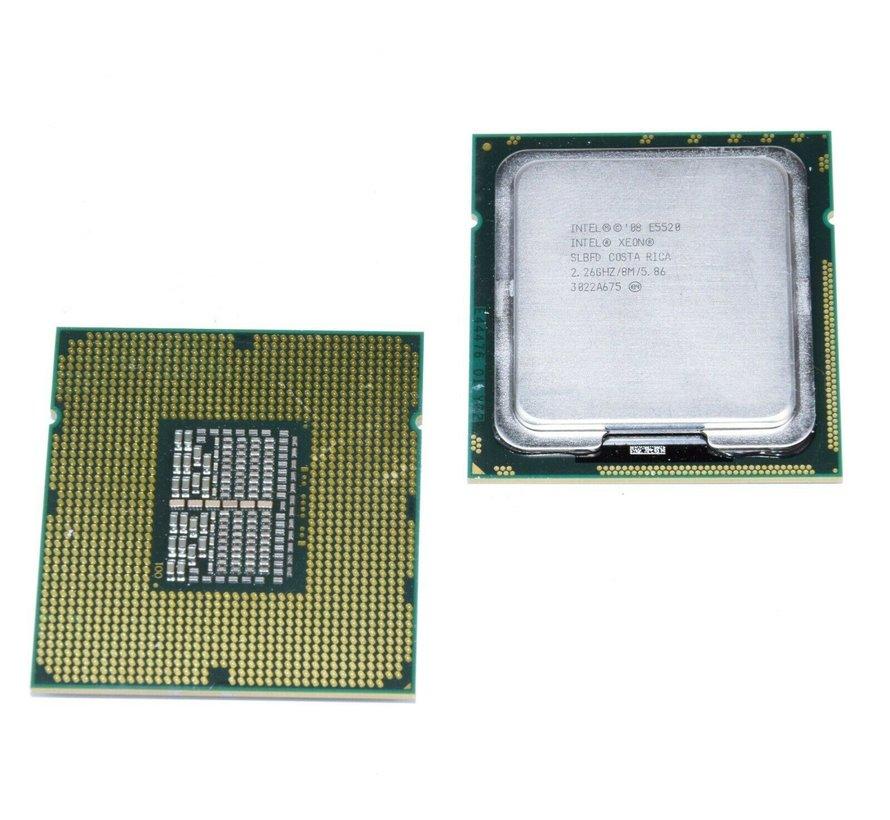 Intel Xeon E5520 Socket 1366 4x 2.26 GHz 4 núcleos CPU