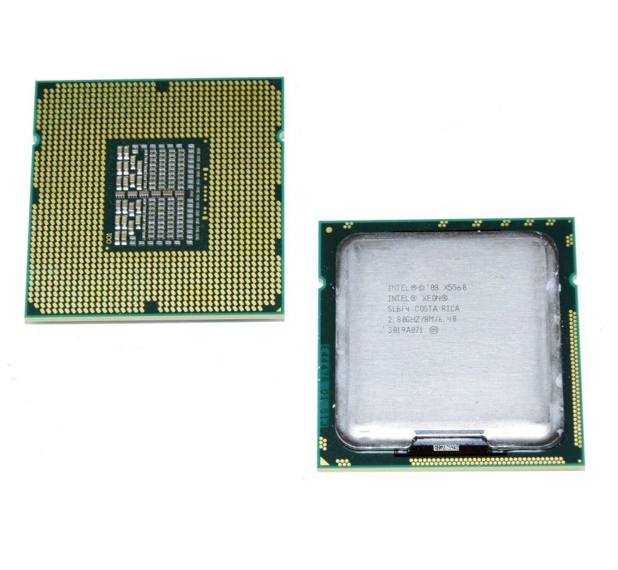 Procesador Intel Xeon X5560 SLBF4 de 2.80 GHz / 8M / 6.40 Quad Core