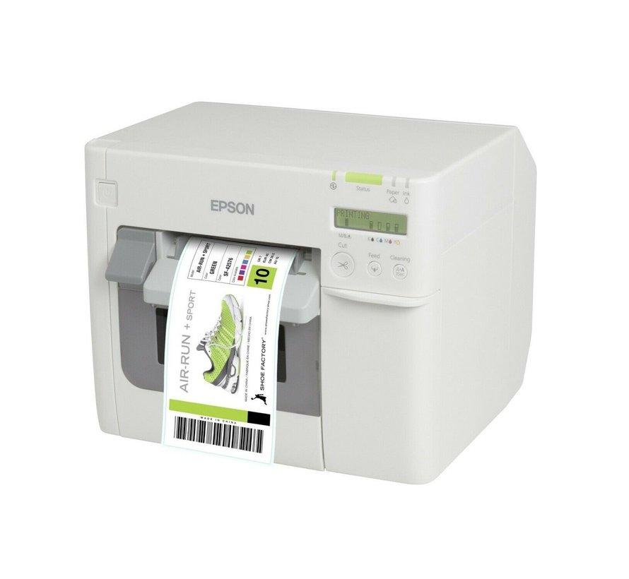 Epson TM-C3500 Color Label Printer M311A Printer C31CD54012CD USB Ethernet
