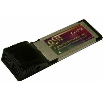 Exsys EX-6701 PCMCIA FireWire IEEE 1394B Tarjeta 2port ExpressCard