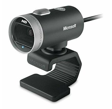 Cámara de cámara de cine Microsoft LifeCam 1393