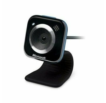 Microsoft LifeCam VX-5000 Webcam 1.3 Megapixel Blue USB