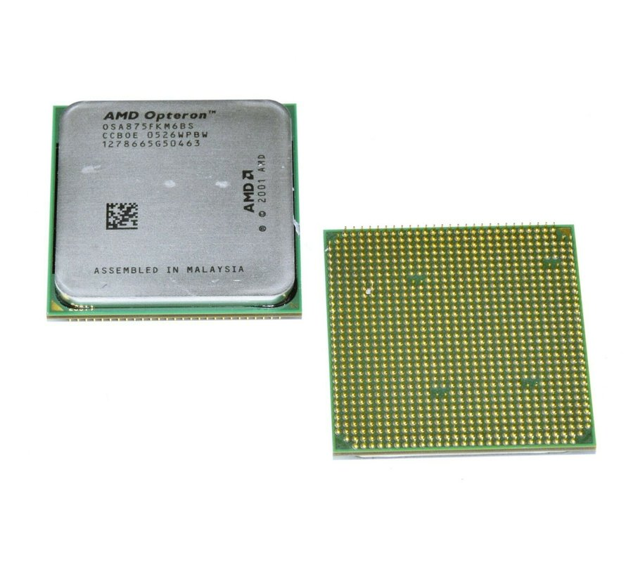 Procesador AMD OPTERON 875 OSA875FKM6BS 4x 2.2GHz Socket 940 CPU