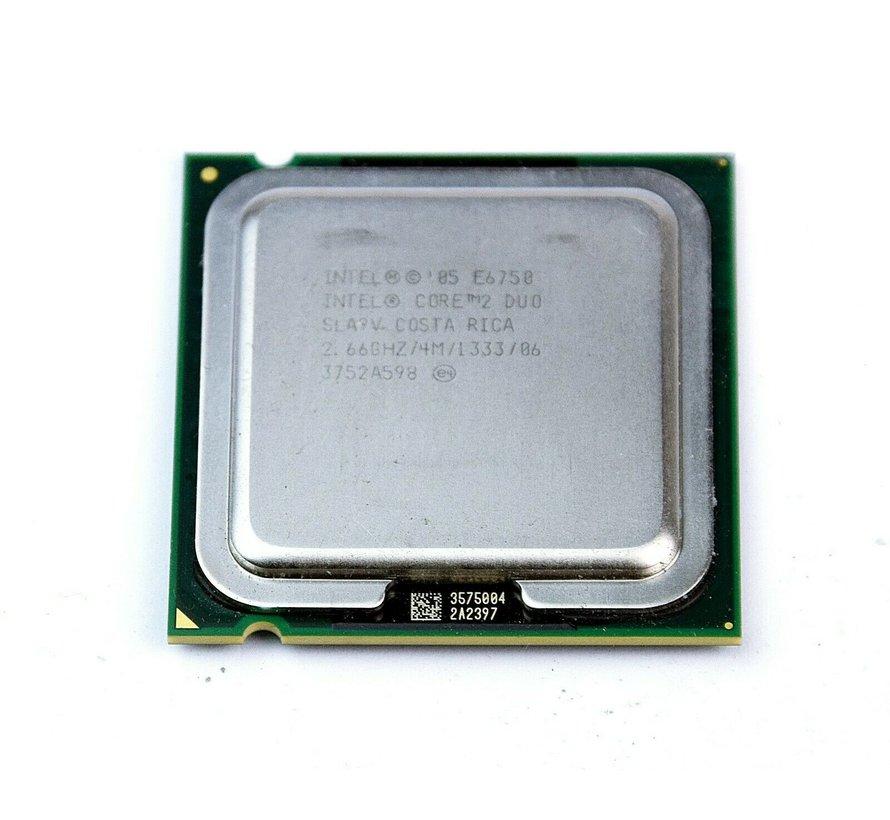 Intel Core 2 Duo E6750 SLA9V Socket 775 2.6GHz processor CPU