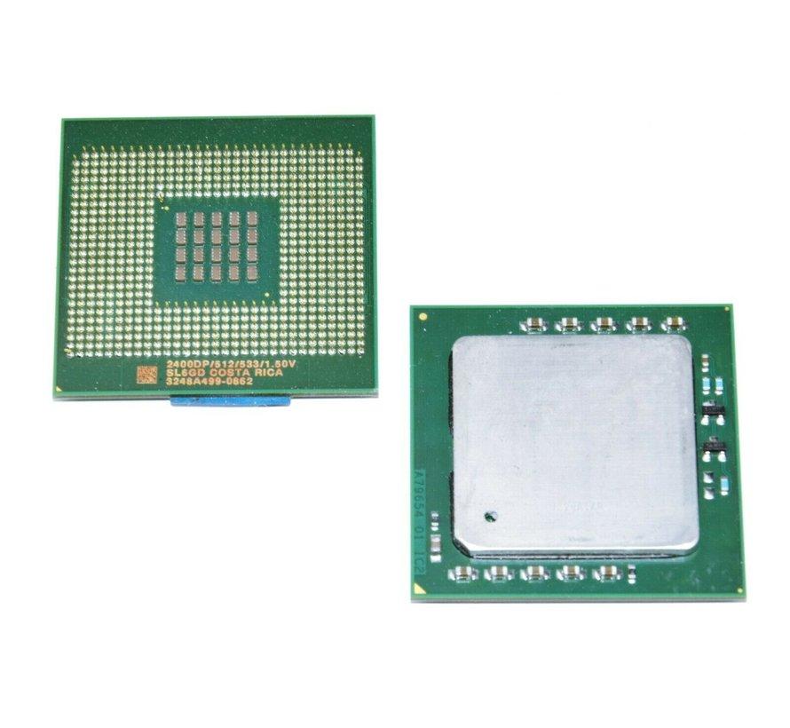Intel Xeon SL6GD 2400DP 2.40GHz / 512KB / 533MHz FSB Socket 604 CPU Processor