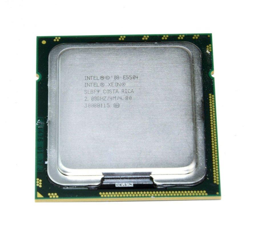 Intel Xeon E5504 2.00GHz FSB 2400 SLBF9 Sun 1366 procesador de cuatro núcleos CPU