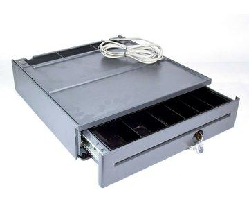 IBM IBM TOSHIBA Compact Cash Drawer POS Cash Drawer Iron Gray 80Y3232