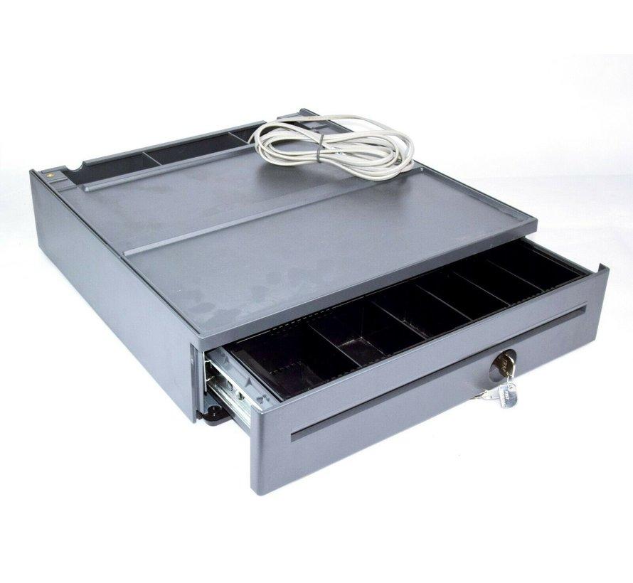 IBM TOSHIBA Cajón de efectivo compacto POS Cajón de efectivo Gris hierro 80Y3232