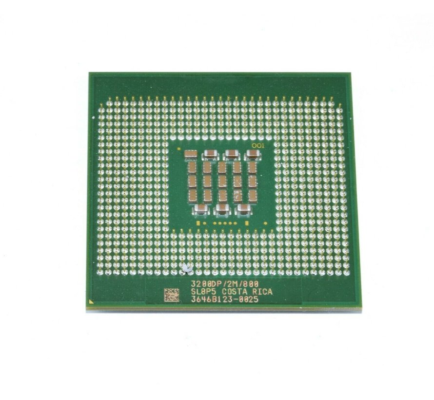 Procesador de CPU Intel Socket 604 Xeon 3.2GHz / 2M / 800 SL8P5