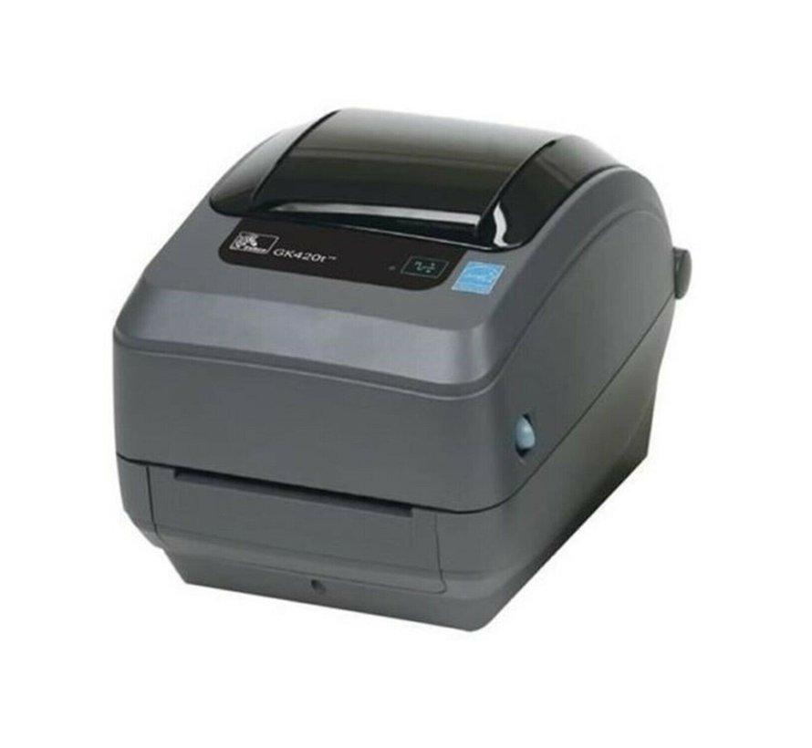Impresora de recibos Zebra GK420T impresora de etiquetas impresora térmica ThermoTransfer