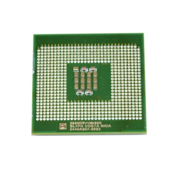 Intel Procesador Intel CPU Socket 604 Xeon a 3.6GHz / 1M / 800 SL7PH