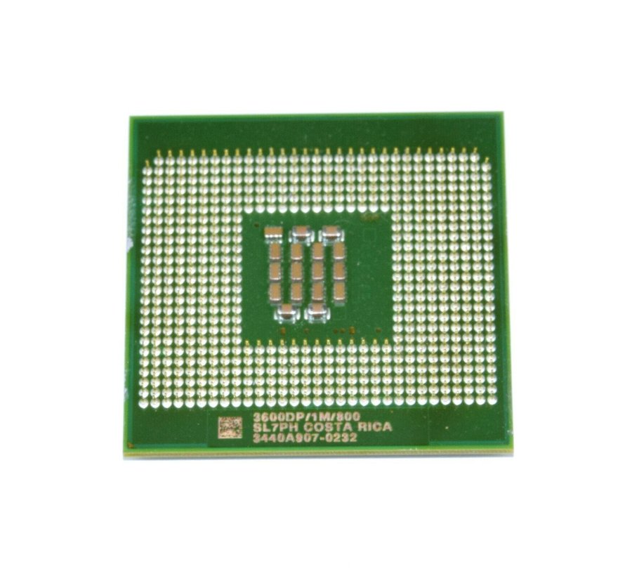 Procesador Intel CPU Socket 604 Xeon a 3.6GHz / 1M / 800 SL7PH