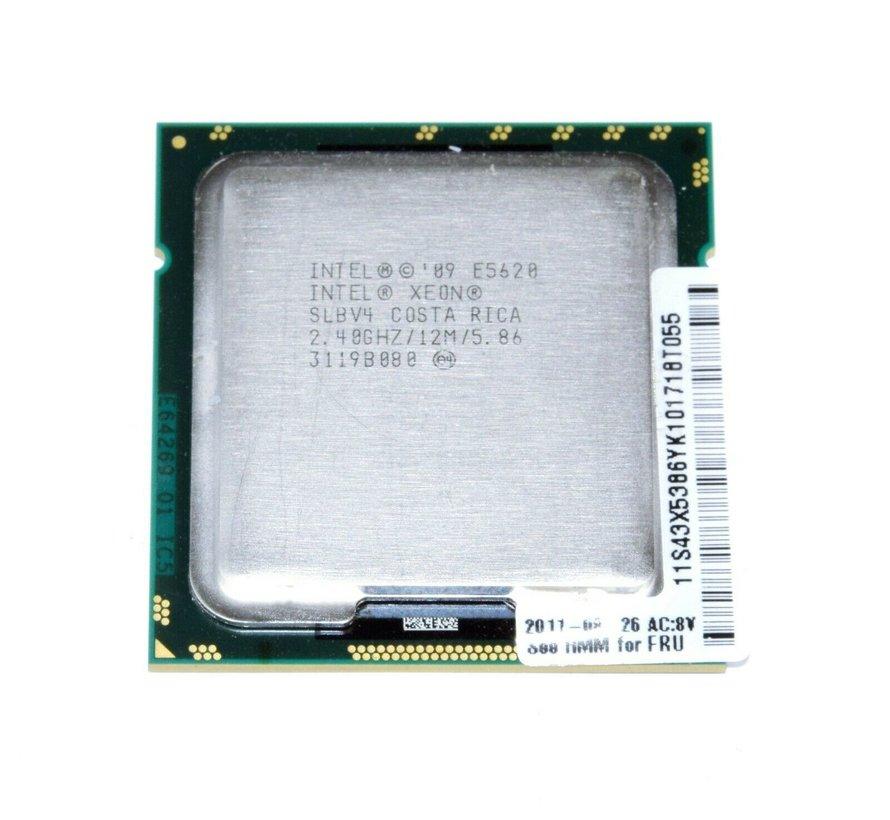 Procesador Intel Xeon E5620 2.4GHz 12MB SLBV4 FCLGA1366