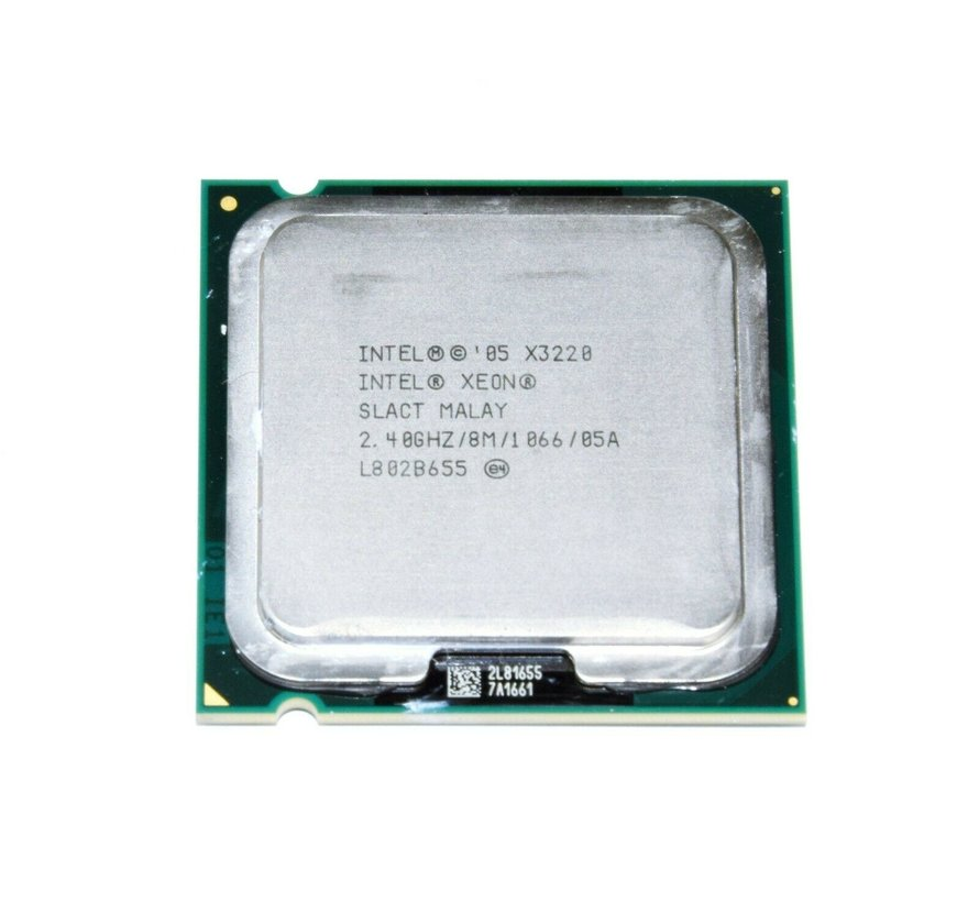 Intel Xeon X3220 procesador de cuatro núcleos a 2,4 GHz CPU