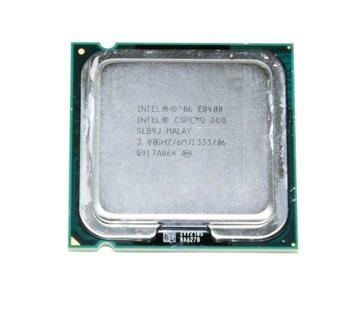 Intel Procesador Intel Core 2 Duo CPU E8400 SLB9J 3.00GHz 6MB 1333MHz