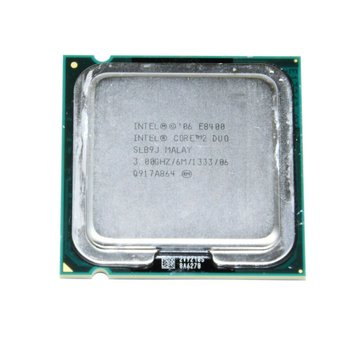 Intel Procesador Intel Core 2 Duo CPU E8400 SLB9J 3.00GHz 6MB 1333MHz