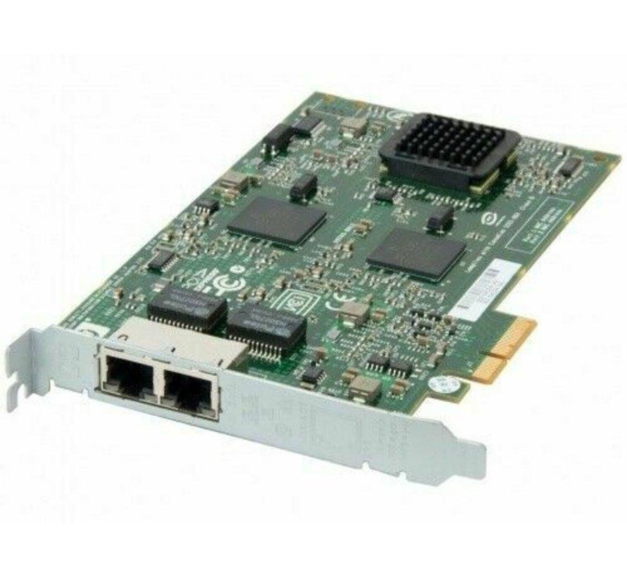 Adaptador de servidor Gigabit multifunción HP NC380T de doble puerto PCI Express 374443-001