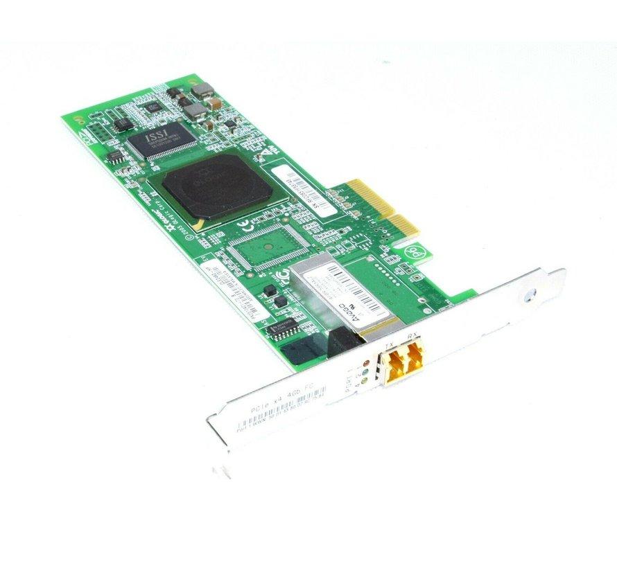 Adaptador de bus de host HP QLE2460 de puerto único a 4 Gbps AFBR-59R5ALZ PCI-E - 407620-001