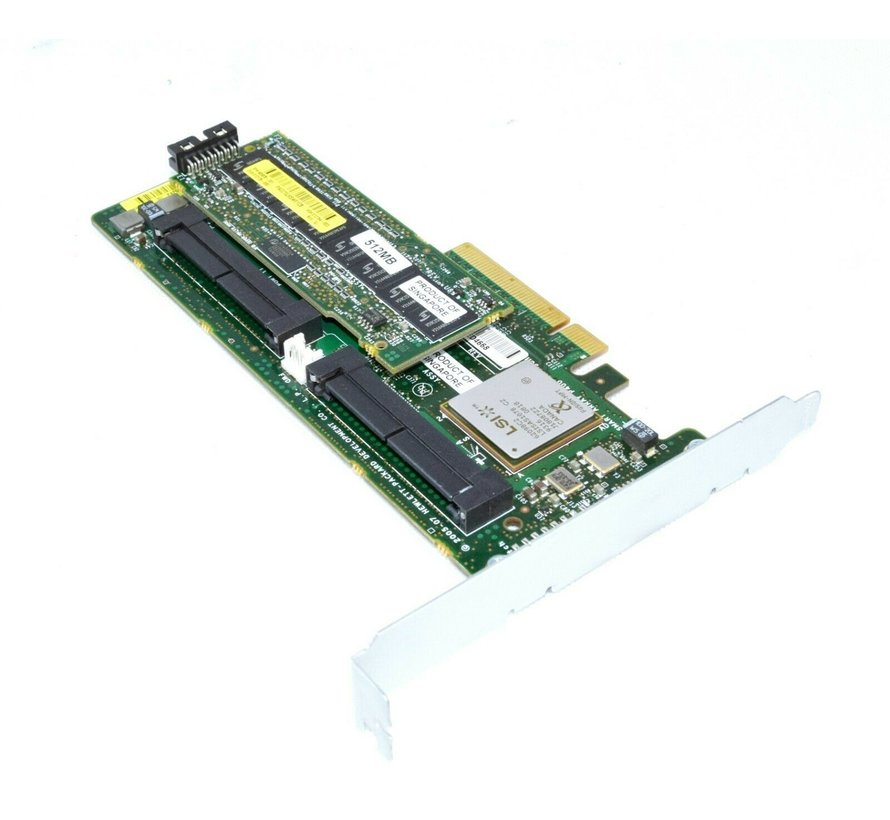 Controlador RAID HP Smart Array P400 8 canales / 512 MB / SAS / PCI-E 504023-001 PCI Express