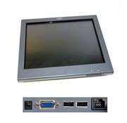 """IBM Pantalla táctil con pantalla táctil de IBM SurePoint Touch Monitor 1520-5GB de 15 """"de IBM"""