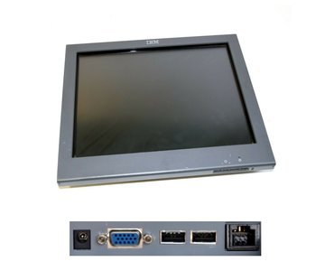 """IBM IBM 15 """"Touchmonitor 4820-5GB Touch Monitor SurePoint Touchscreen Display LCD"""
