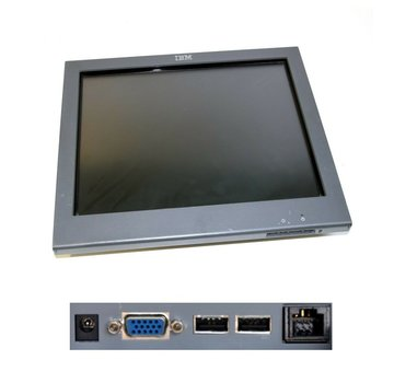 "IBM IBM 15 ""Touchmonitor 4820-5GB Touch Monitor SurePoint Touchscreen Display LCD"
