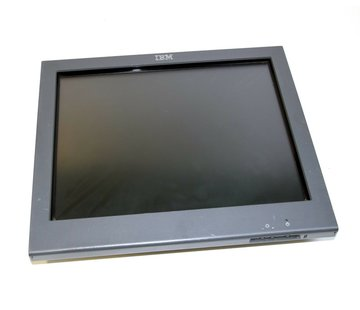 """IBM IBM 15 """"Touch Monitor Type 4820 Touch Monitor SurePoint Touch Screen Display LCD"""