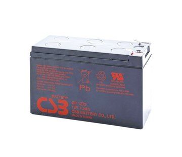 CSB Battery GP 1272 GP1272 F2 Lead Battery 12V 7.2Ah Lead Fleece Battery f. USV UPS