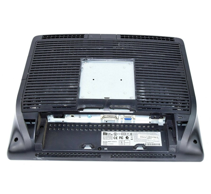 """ELO 17"""" Touchscreen Touch Monitor ET1729L-8UEA-1-D-GY-G ohne Standfuss"""