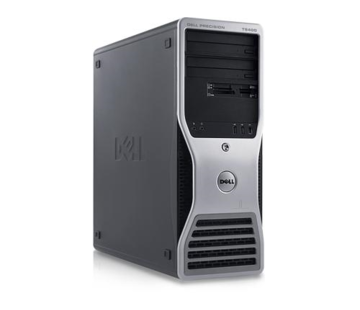 Dell DELL Precision T5400 INTEL Xeon X5260 3,33 GHz CPU 2GB RAM 320GB HDD Windows