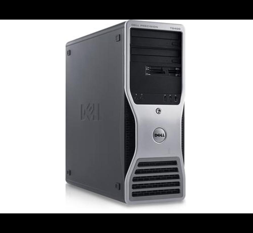 DELL Precision T5400 INTEL Xeon X5260 3.33GHz CPU 2GB RAM 320GB HDD Windows