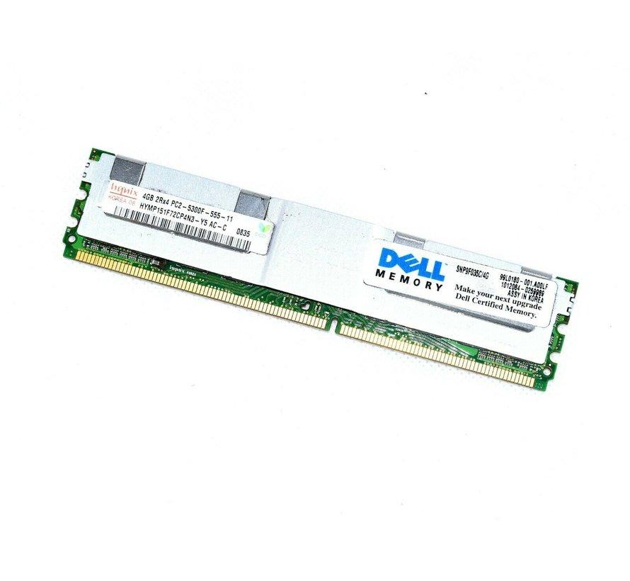 Hynix HYMP151F72Cp4N3-Y5 AC-C 4GB 2Rx4 PC2 5300F Ram Arbeitsspeicher Server