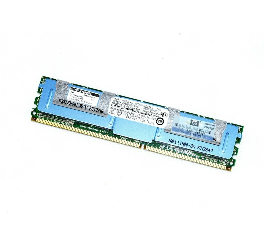 HP 398708-061 PSF18020901 4GB 2Rx4 DDR2-667 Ram Memory Server