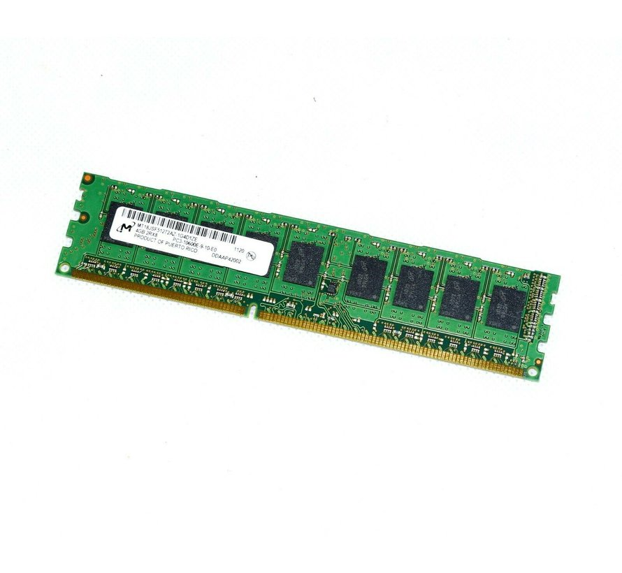 M MT18JSF51272AZ-1G4D1ZE 4GB 2Rx8 PC3-10600E-9-10-E0 Ram Memory Server