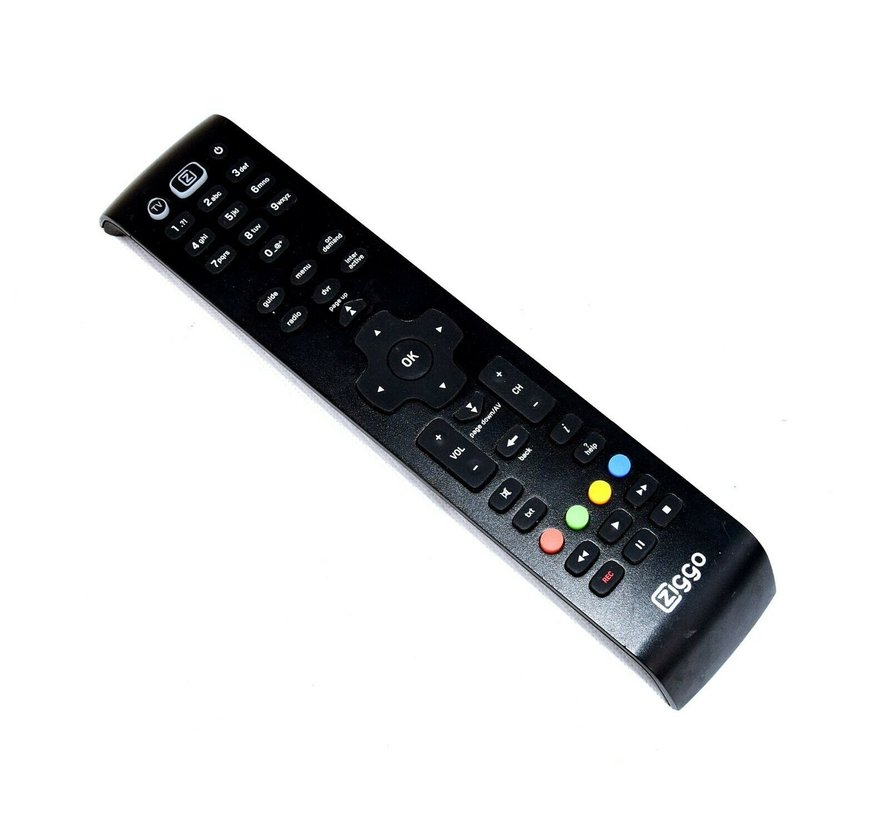 ZIGGO original remote control URC 184001-02R00-MAXQ610X-2586