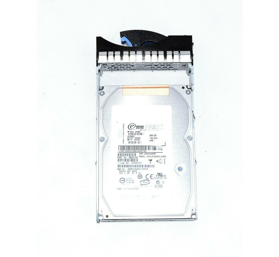 "IBM HUS153030VLS300 43X0902 300GB 15K RPM 3,5"" Festplatte hard drive"