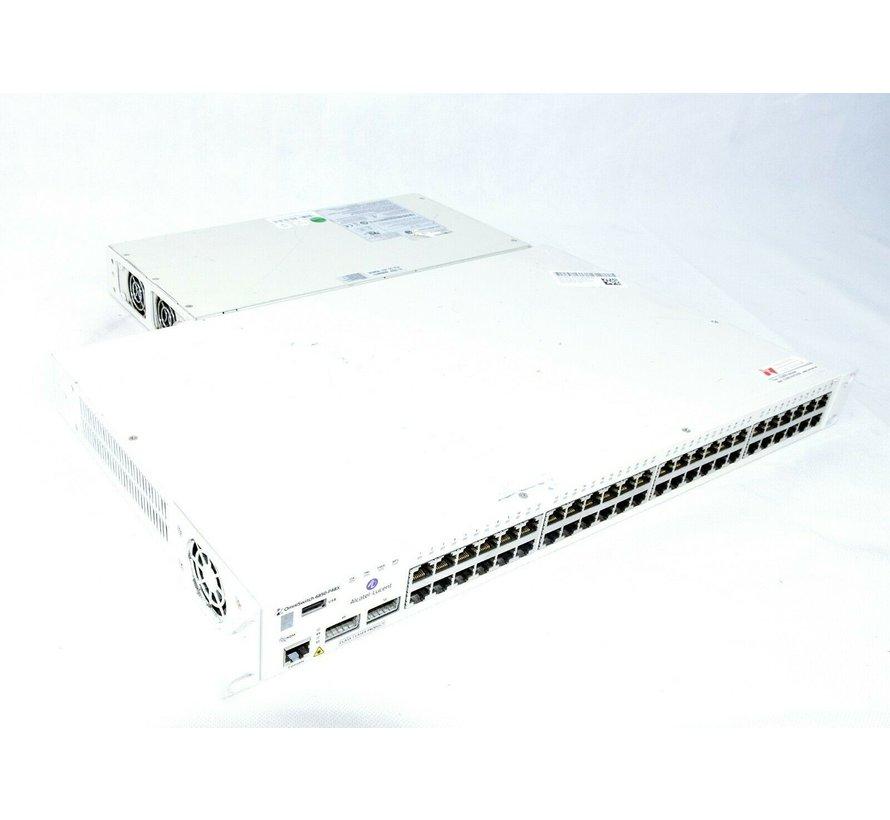 OmniSwitch OS 6850-P48X USB 48 Port Gigabit Ethernet Switch
