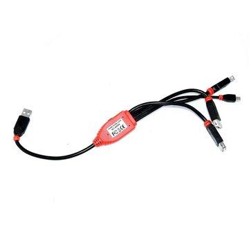 Lindy 42836 USB 2.0 Cable Hub Cable de 4 puertos