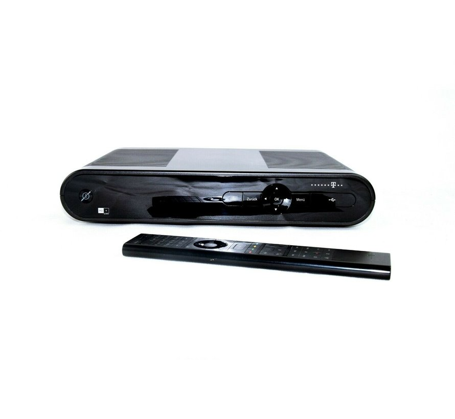 Telekom Media Receiver MR 500 Sat HD + Receiver Entertain TV HDMI MR 500 Black
