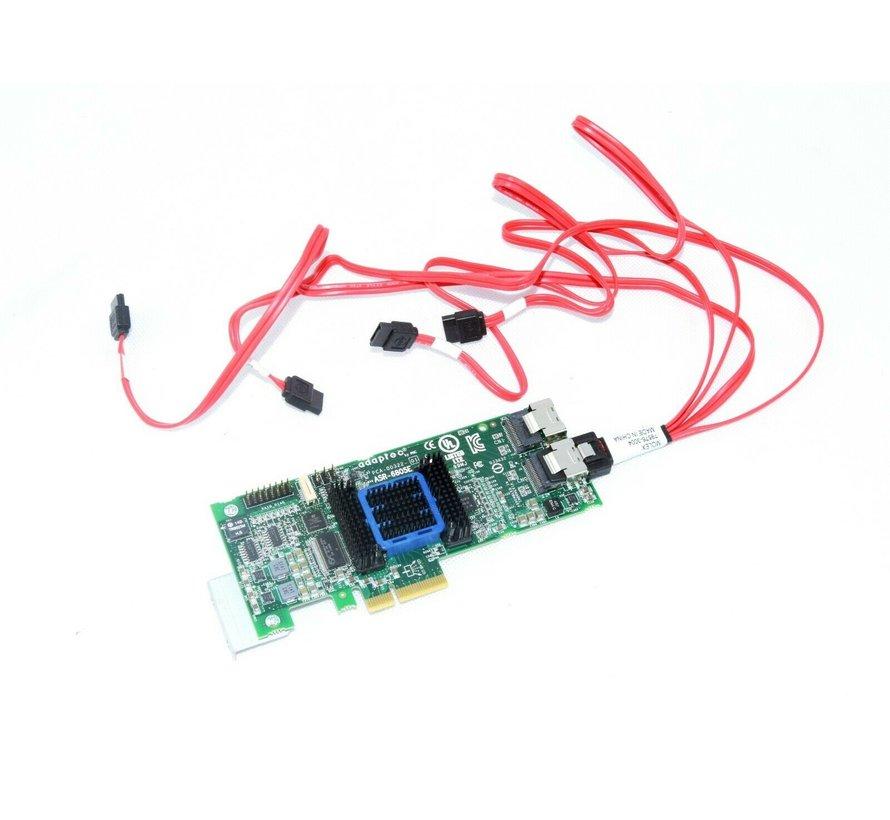 Adaptec ASR-6805E PCA-00322-01 8-Port RAID Controller Card Karte